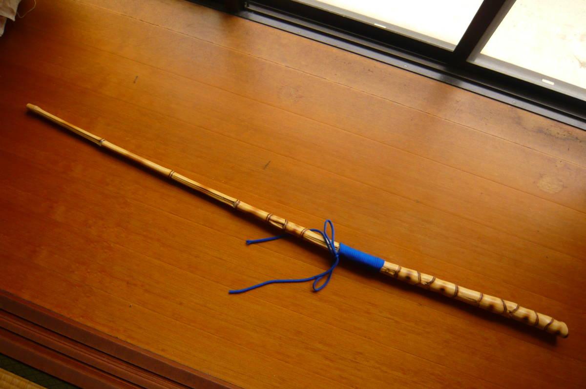 布袋竹の杖 粘りが有り強いです
