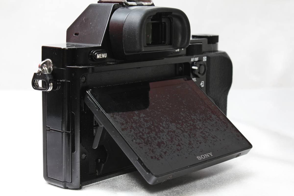 ★ SONY α7S ILCE-7S ★ブラック フルサイズ ミラーレス バッテリーつきなのですぐ使えます!!_画像6