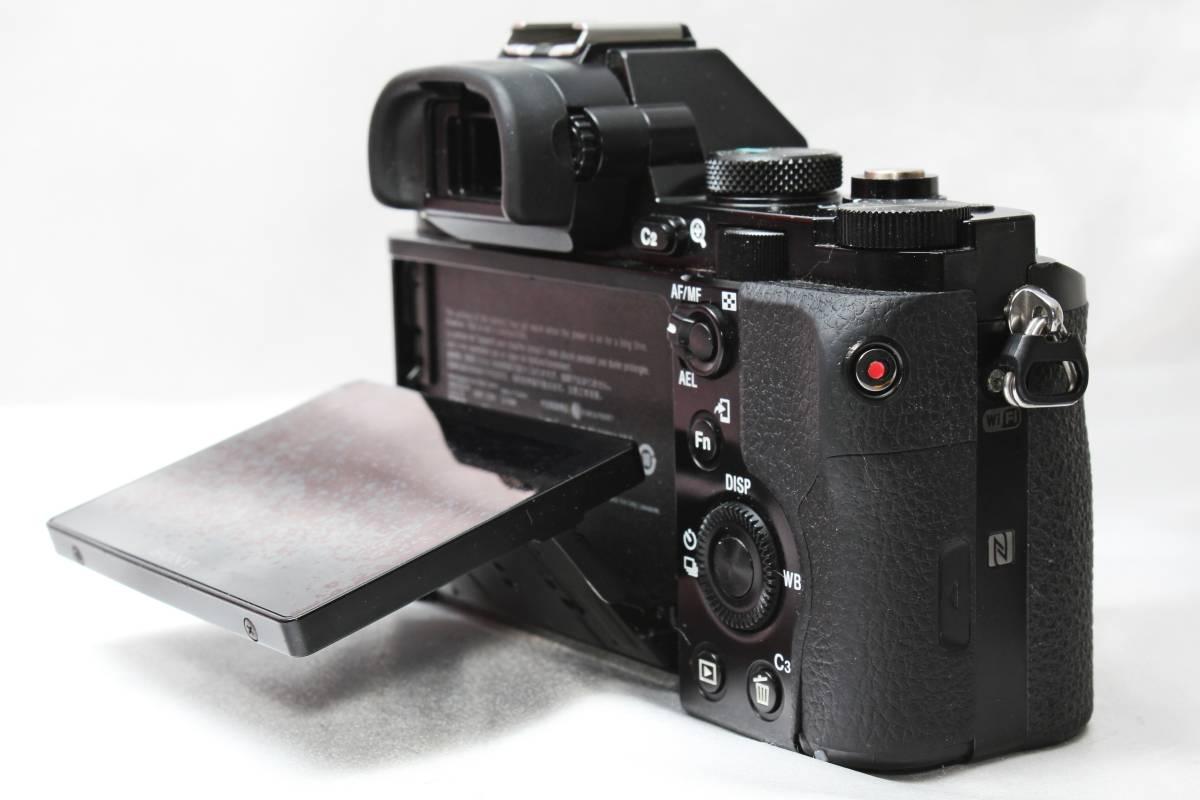 ★ SONY α7S ILCE-7S ★ブラック フルサイズ ミラーレス バッテリーつきなのですぐ使えます!!_画像3