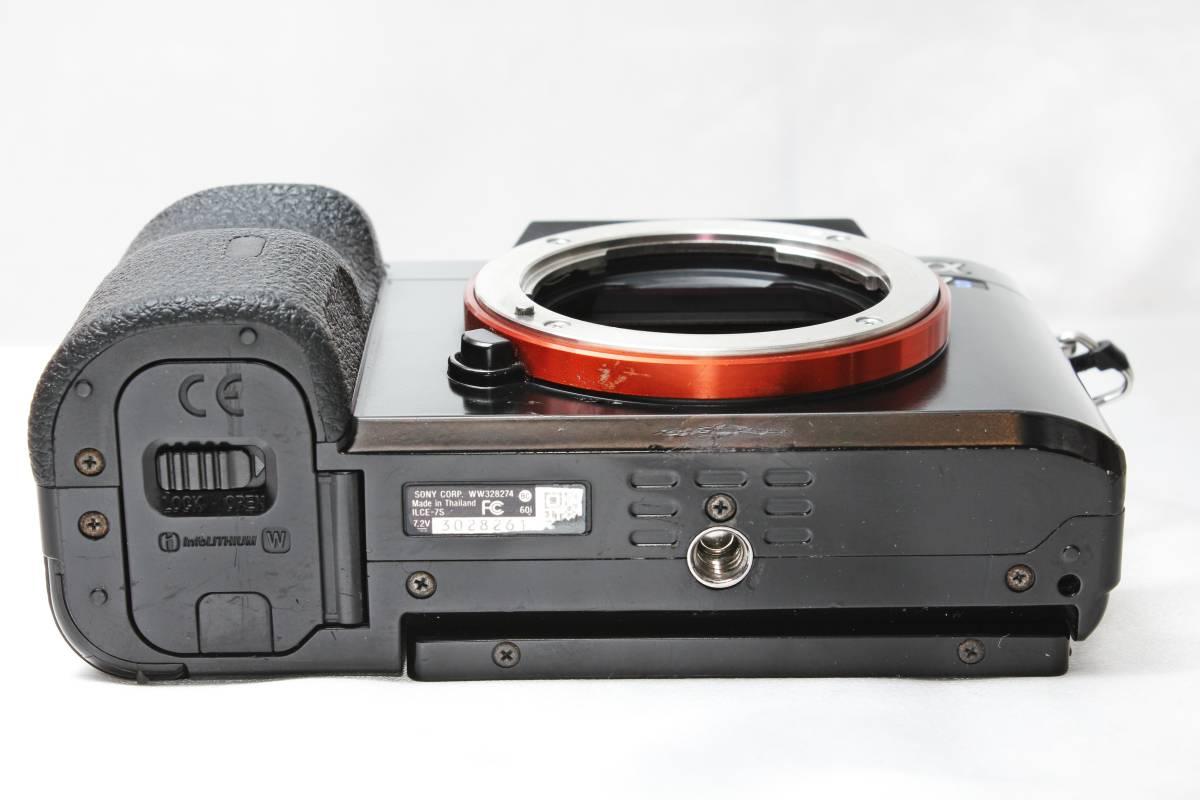 ★ SONY α7S ILCE-7S ★ブラック フルサイズ ミラーレス バッテリーつきなのですぐ使えます!!_画像5
