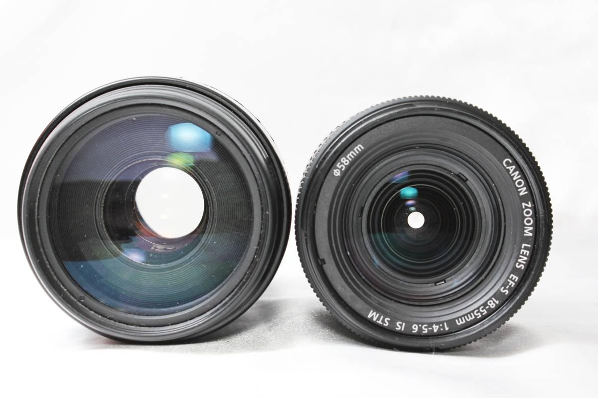 ★【新品未使用 ダブルレンズ スターターセット】 Canon EOS Kiss X9i ★EF-S18-55 IS STM 超望遠 EF100-300 USM ★自撮りOK 取説つき_画像7