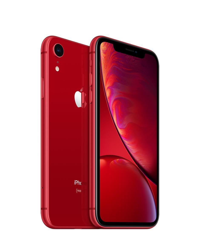 【新品】iPhone XR/SIMフリー/SIM Free/赤/プロダクトレッド/Product red/64GB / MT062 J/A / au 解除品【未使用】