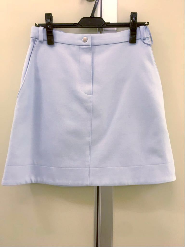 【CARVEN 】カルヴェン水色セットアップ 丸ラペル スカート36スーツOPENING CEREMONY取扱い(vivienne)_画像6