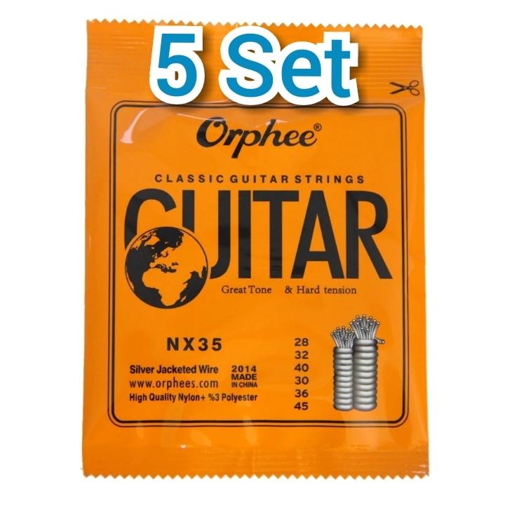 Orpheeクラッシックギター弦 28-45 5セット(サバレスの合間に..)_画像1