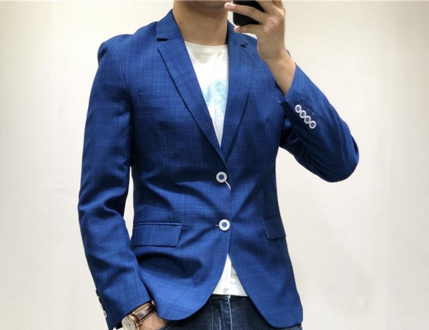 新入荷!春夏*新品★高品質★ カッコイイ紳士服 * メンズ 紳士服 上着 ジャケット L_画像4