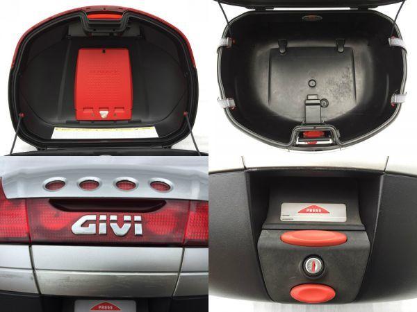 GIVI モノキーケース 46リットルタイプ V46シリーズ シルバー スペアキー付 トップケース リアボックス 人気モデル 大容量 流用 汎用 格安_画像8