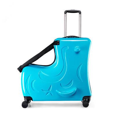 トロイの木馬 こども 多功能 スーツケース トランク トロリーケース キャリーケース ビジネス トラベル バッグ 20インチ