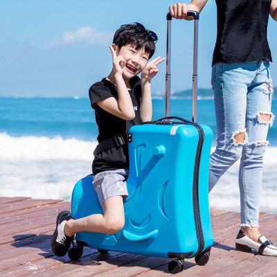 トロイの木馬 こども 多功能 スーツケース トランク トロリーケース キャリーケース ビジネス トラベル バッグ 20インチ_画像2