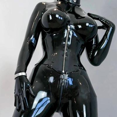 ラテックス コスプレ 新品 一体 プラグスーツ 全身タイツ 男女兼用 キャットスーツ コスチューム衣装 ラバースーツ