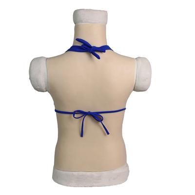 コスプレイヤー衣装 女装男の娘 Dカップ女性シリコンバスト 胸 シリコンスーツ 偽乳 皮膚付き新品_画像3