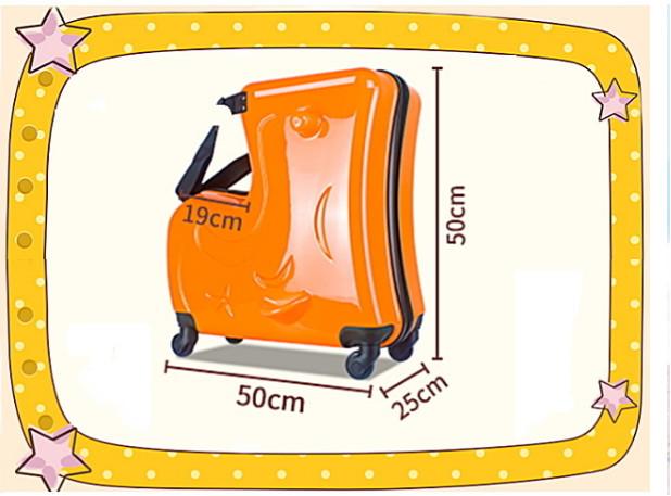 トロイの木馬 こども 多功能 スーツケース トランク トロリーケース キャリーケース ビジネス トラベル バッグ 20インチ_画像5