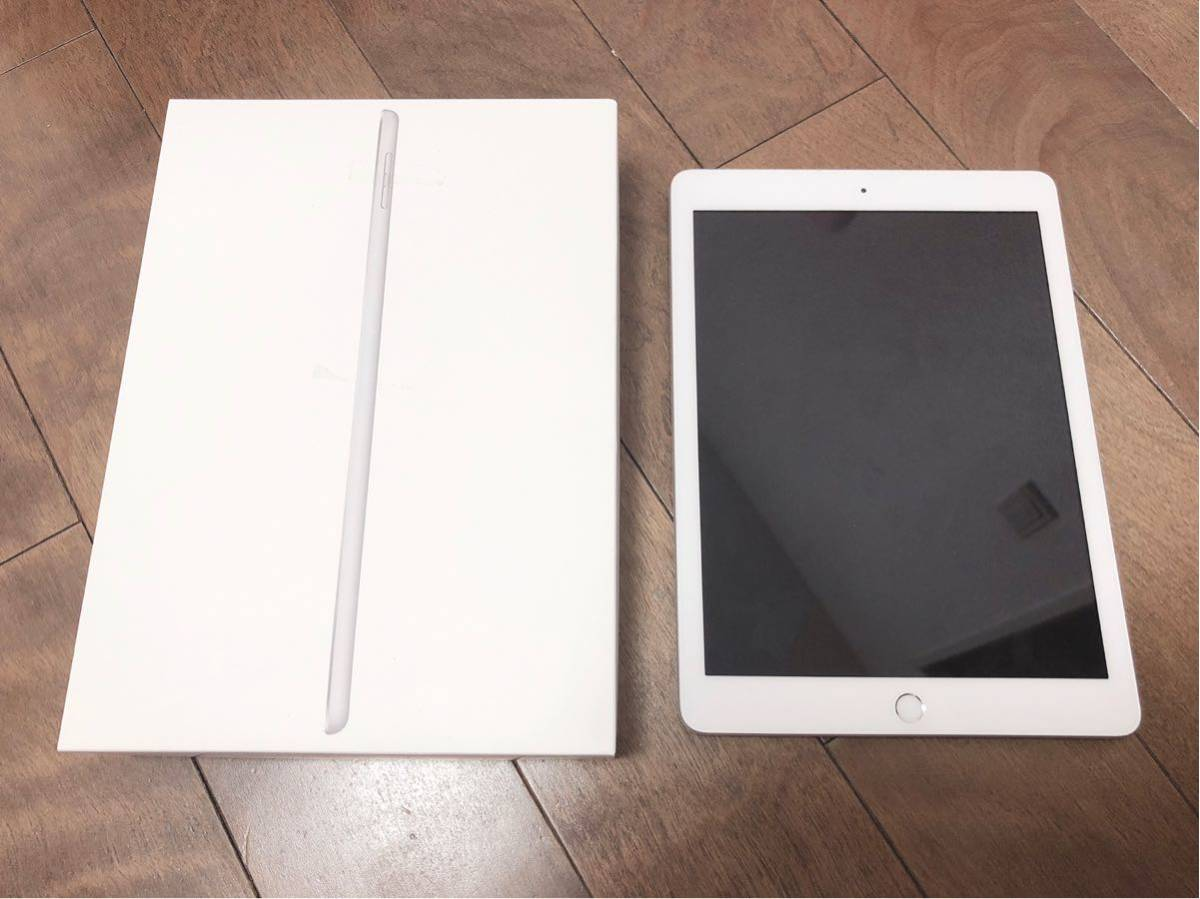 iPad 6th generation Wi-Fi +Cellular 32GB シルバー 箱あり 付属品なし 送料無料
