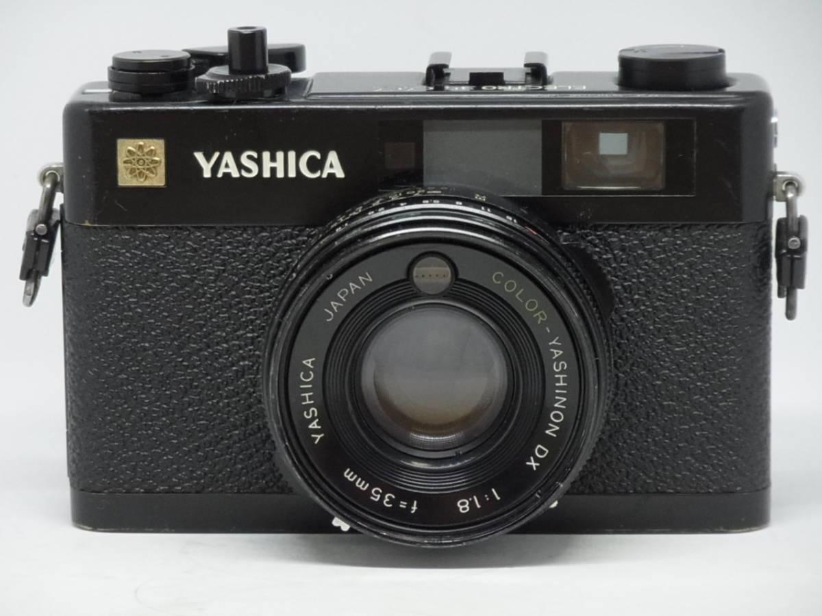 ヤシカ YASHICA ELECTRO 35 CC COLOR-YASHINON DX 1:1.8 f=35mm