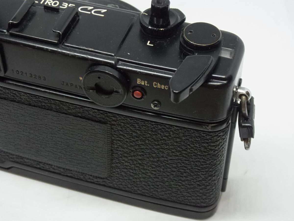ヤシカ YASHICA ELECTRO 35 CC COLOR-YASHINON DX 1:1.8 f=35mm_画像9