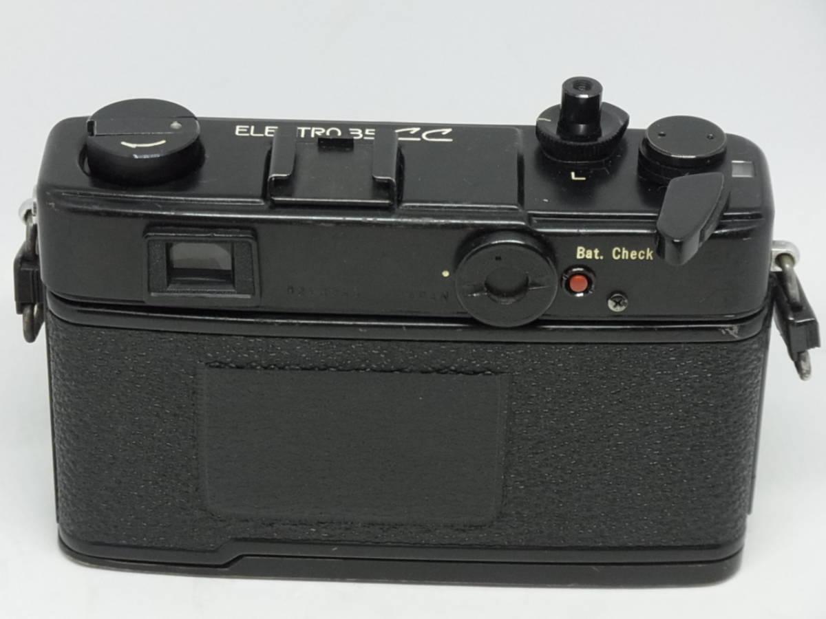 ヤシカ YASHICA ELECTRO 35 CC COLOR-YASHINON DX 1:1.8 f=35mm_画像4
