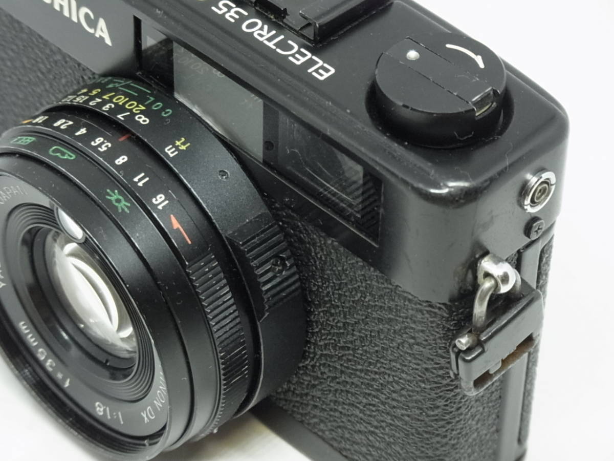 ヤシカ YASHICA ELECTRO 35 CC COLOR-YASHINON DX 1:1.8 f=35mm_画像3