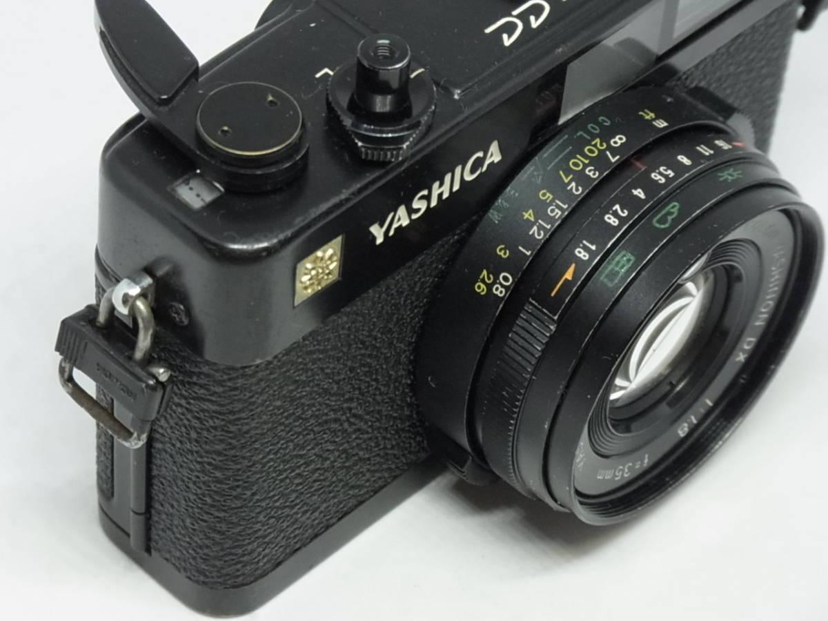 ヤシカ YASHICA ELECTRO 35 CC COLOR-YASHINON DX 1:1.8 f=35mm_画像2