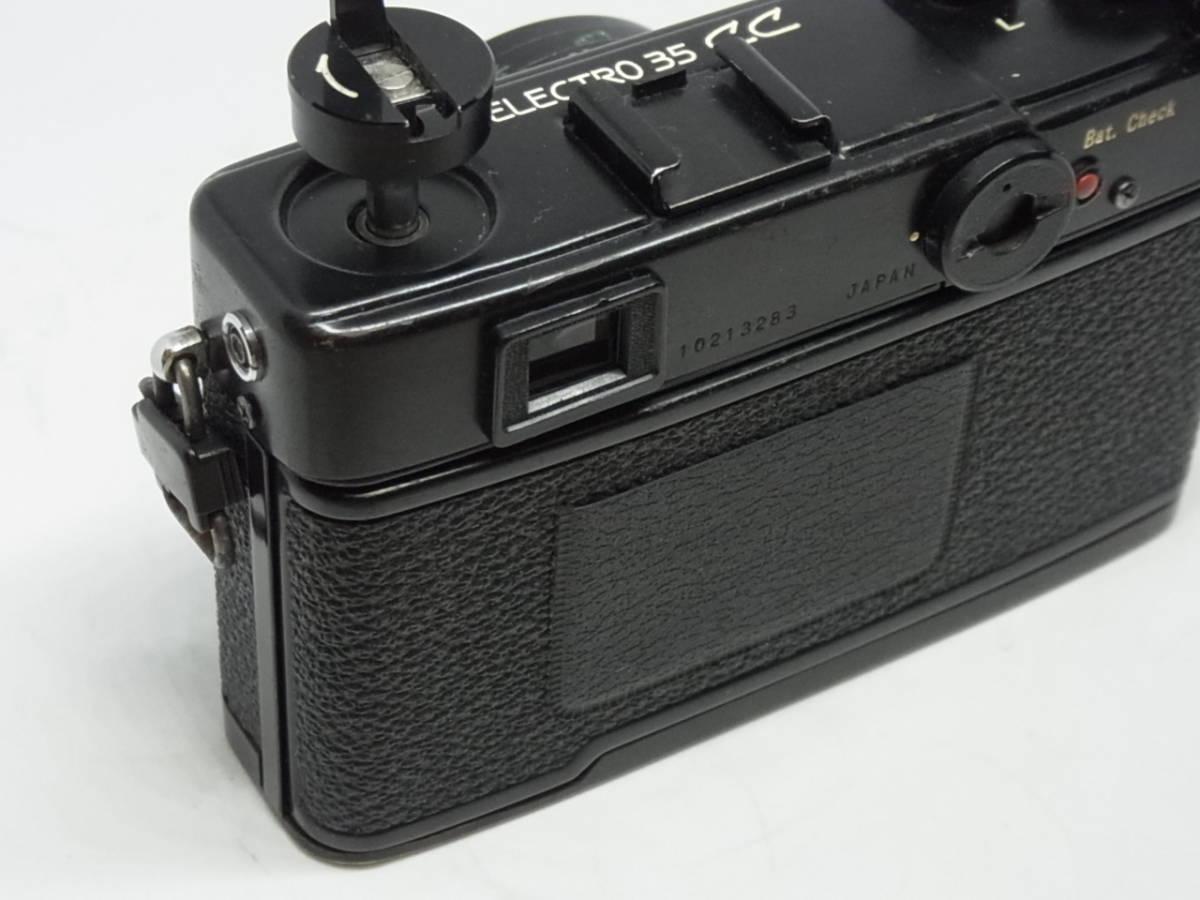 ヤシカ YASHICA ELECTRO 35 CC COLOR-YASHINON DX 1:1.8 f=35mm_画像10