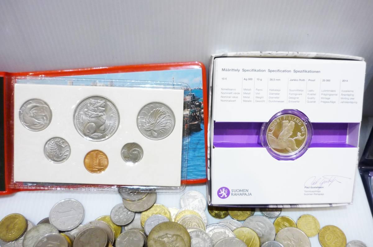 1254A【外国銭】アメリカ・中国・アジア・ヨーロッパほか 外国銭おまとめ 約2.5Kg超_画像3