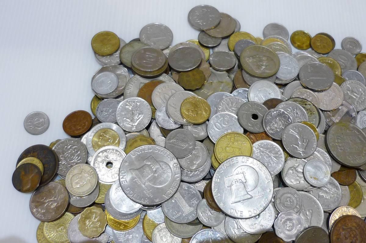 1254A【外国銭】アメリカ・中国・アジア・ヨーロッパほか 外国銭おまとめ 約2.5Kg超_画像4