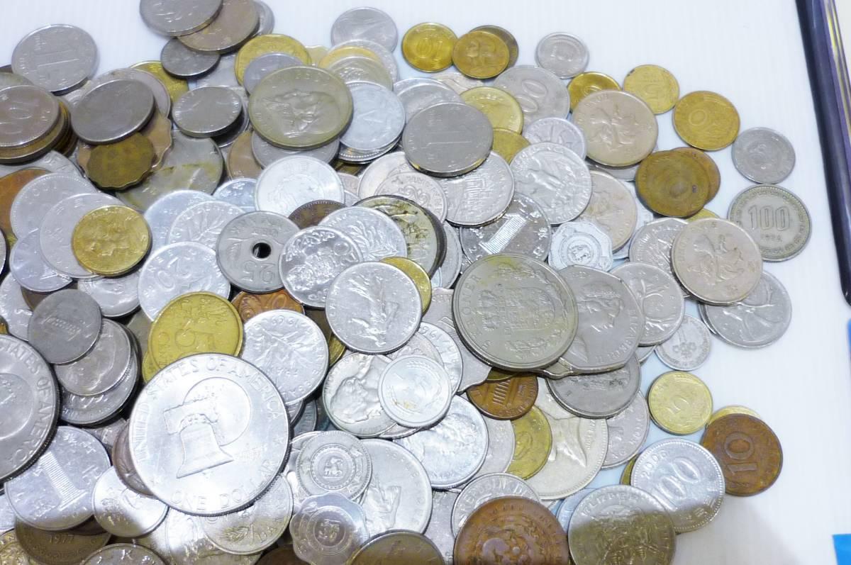 1254A【外国銭】アメリカ・中国・アジア・ヨーロッパほか 外国銭おまとめ 約2.5Kg超_画像5