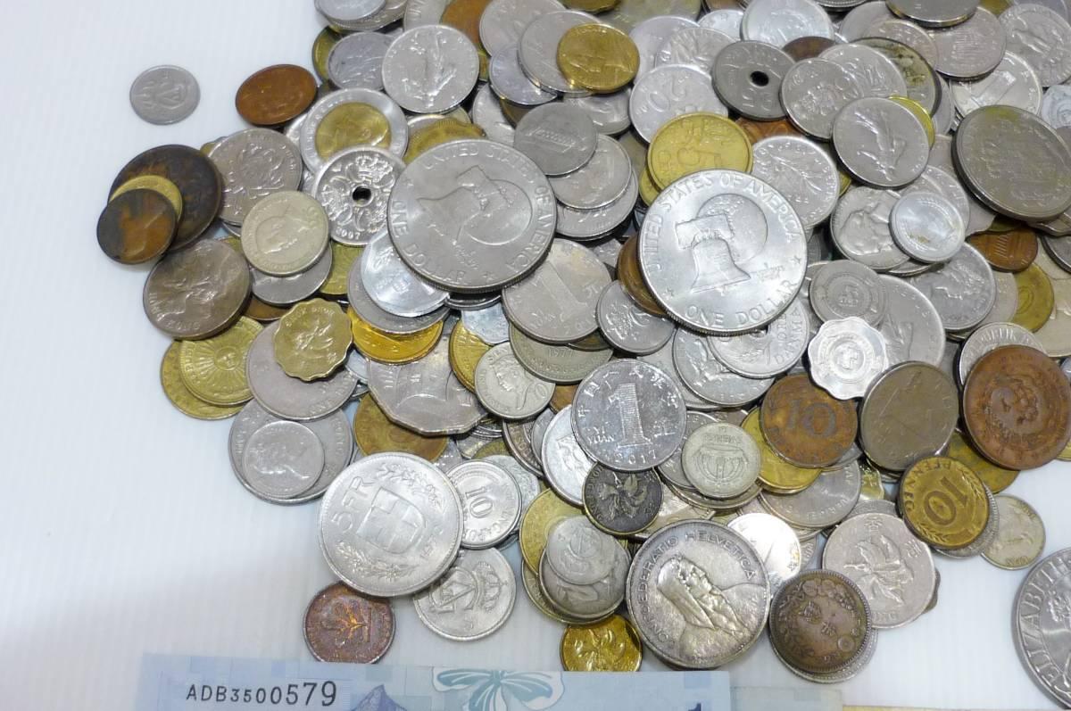 1254A【外国銭】アメリカ・中国・アジア・ヨーロッパほか 外国銭おまとめ 約2.5Kg超_画像7