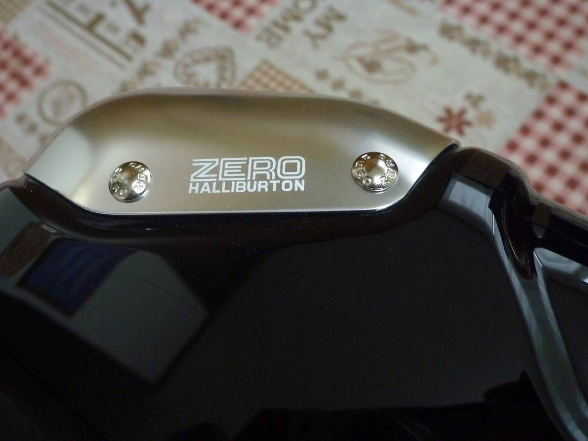 新品♪ZERO ゼロハリバートン スーツケース♪黒_画像4