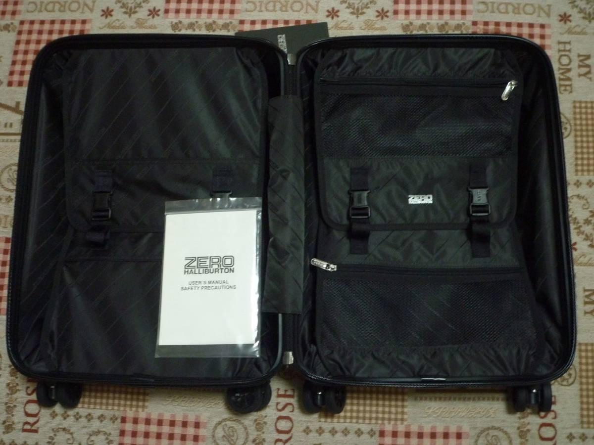 新品♪ZERO ゼロハリバートン スーツケース♪黒_画像7