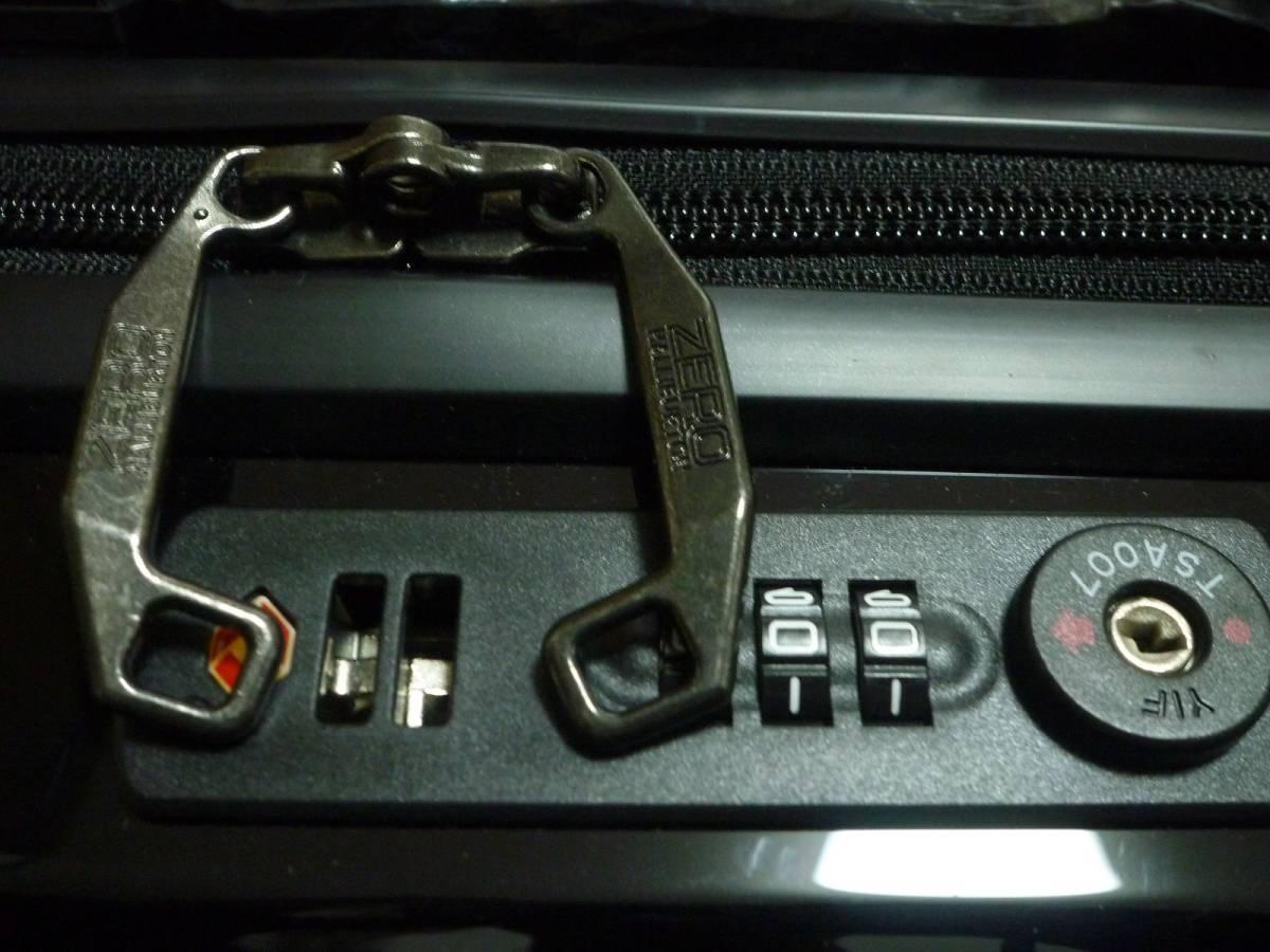 新品♪ZERO ゼロハリバートン スーツケース♪黒_画像9