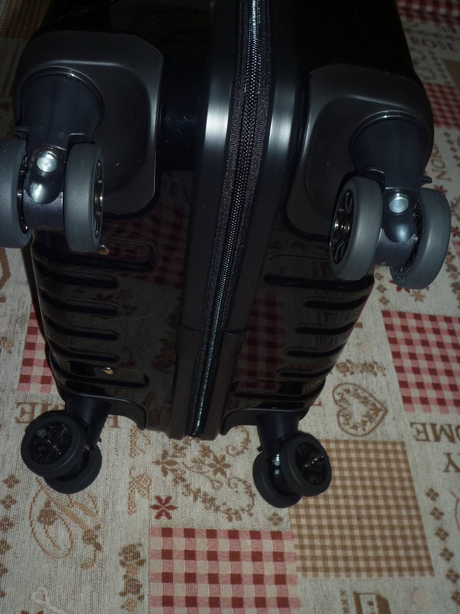 新品♪ZERO ゼロハリバートン スーツケース♪黒_画像6