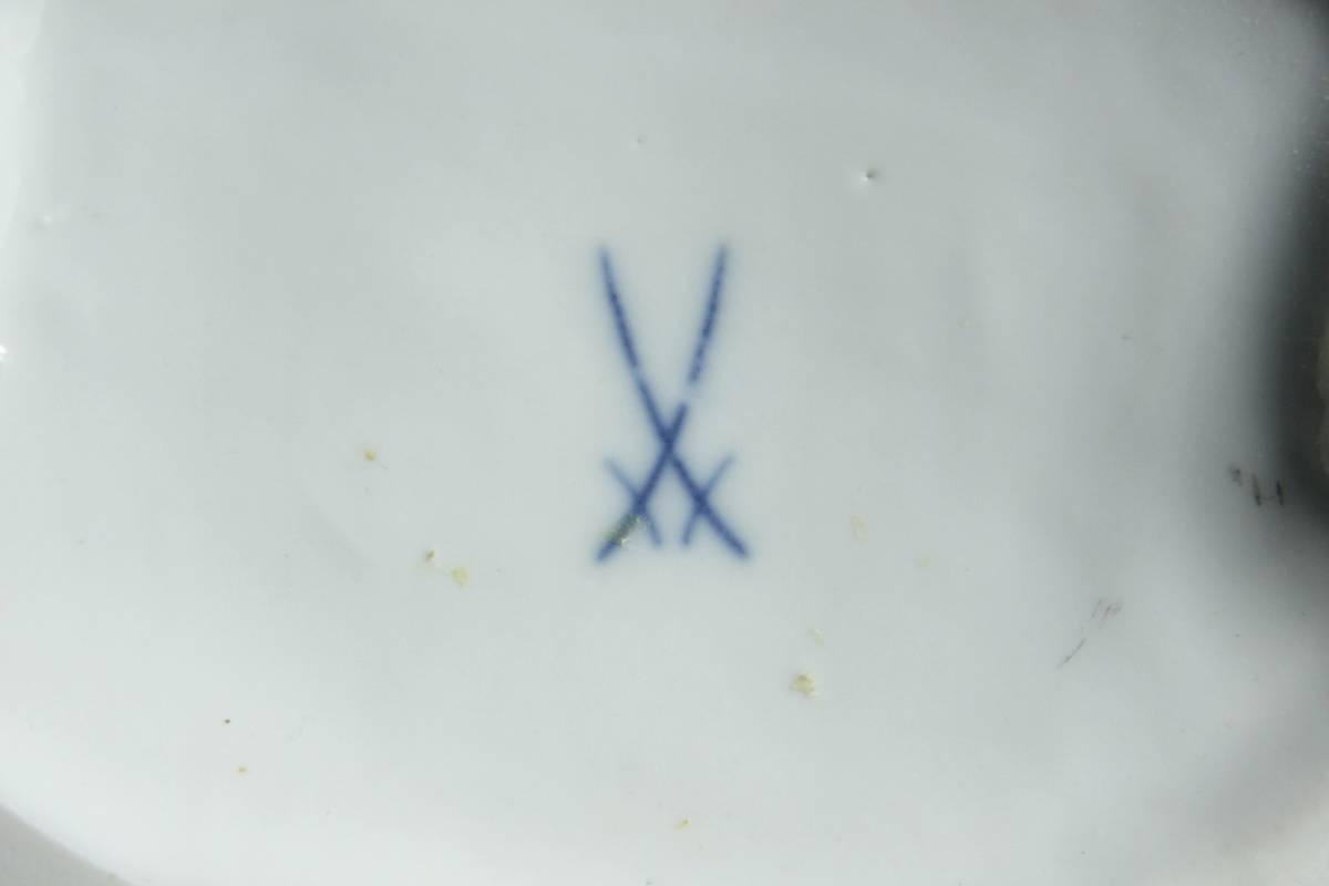 ◆櫟◆ 百貨店購入 Meissen マイセン パゴダ人形 29cm 細密細工 アンティーク [Y9.2]Oeh2/7MK/_画像3