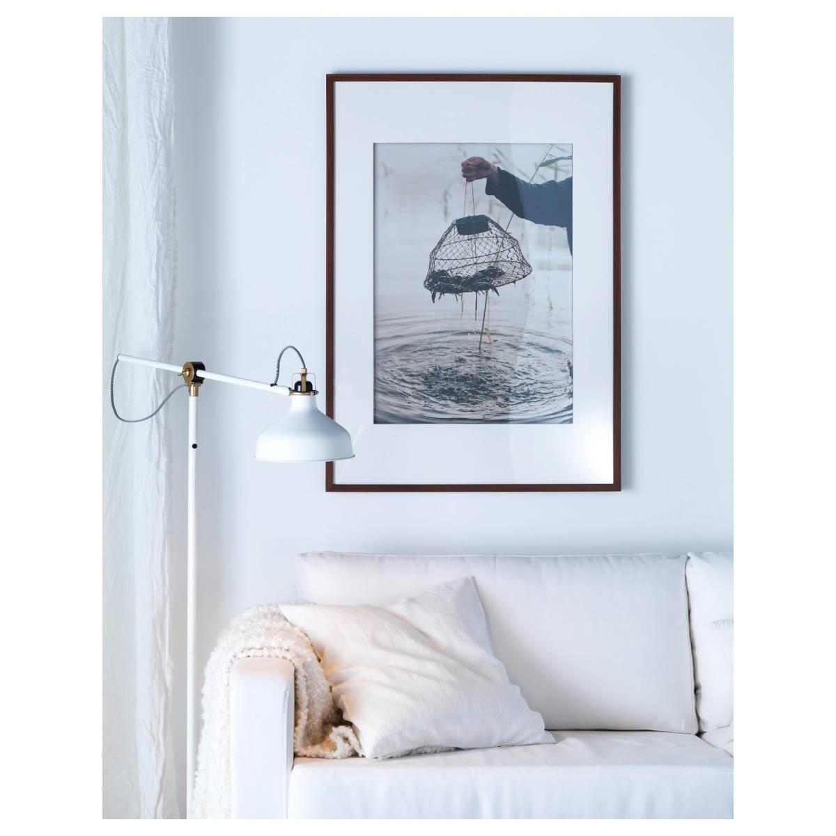 [美品]IKEA RANARP フロアランプ 間接 照明 ライト 読書 ラウンジ オフホワイト 白 無機質 インテリア 北欧[IKEA無印良品大量出品中♪]_画像8