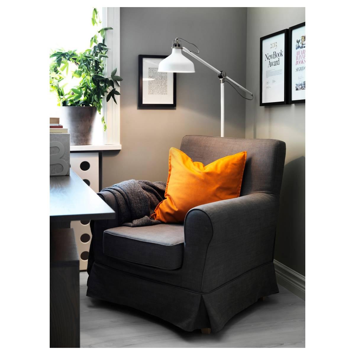 [美品]IKEA RANARP フロアランプ 間接 照明 ライト 読書 ラウンジ オフホワイト 白 無機質 インテリア 北欧[IKEA無印良品大量出品中♪]_画像9