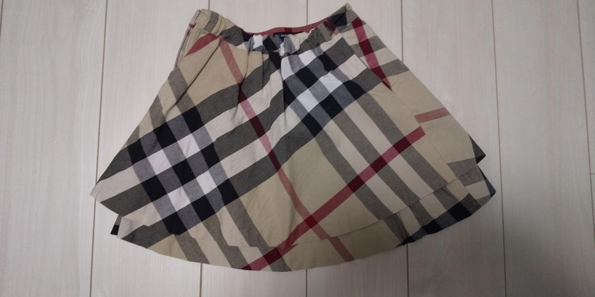 BURBERRY London バーバリー ロンドン 130A スカート キッズ 子供服