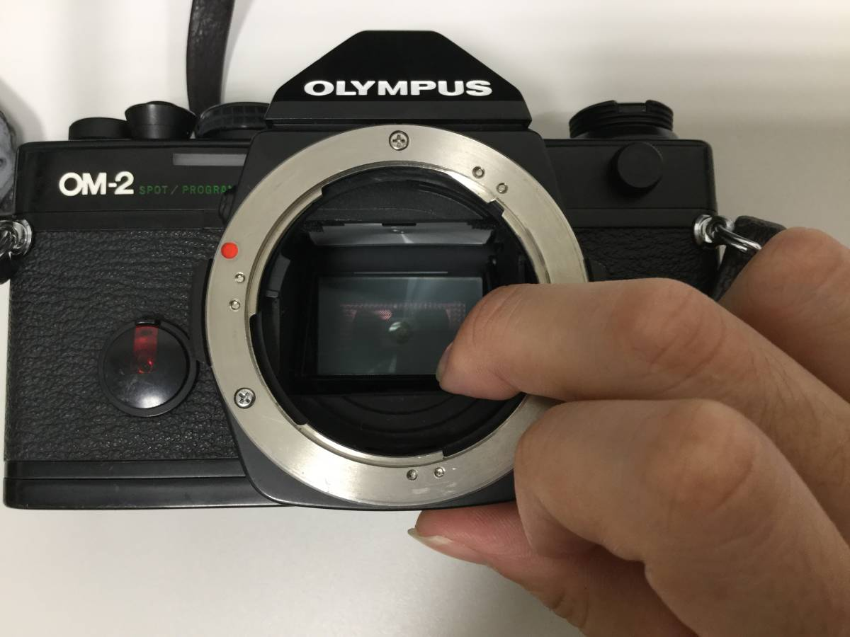 【10634】 OLYMPUS/オリンパス OM-2 レンズ ZUIKO 35-105㎜ 1:3.5-4.5 経年保管品 _画像3