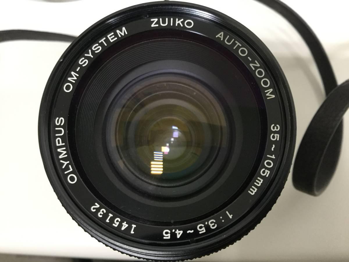 【10634】 OLYMPUS/オリンパス OM-2 レンズ ZUIKO 35-105㎜ 1:3.5-4.5 経年保管品 _画像9