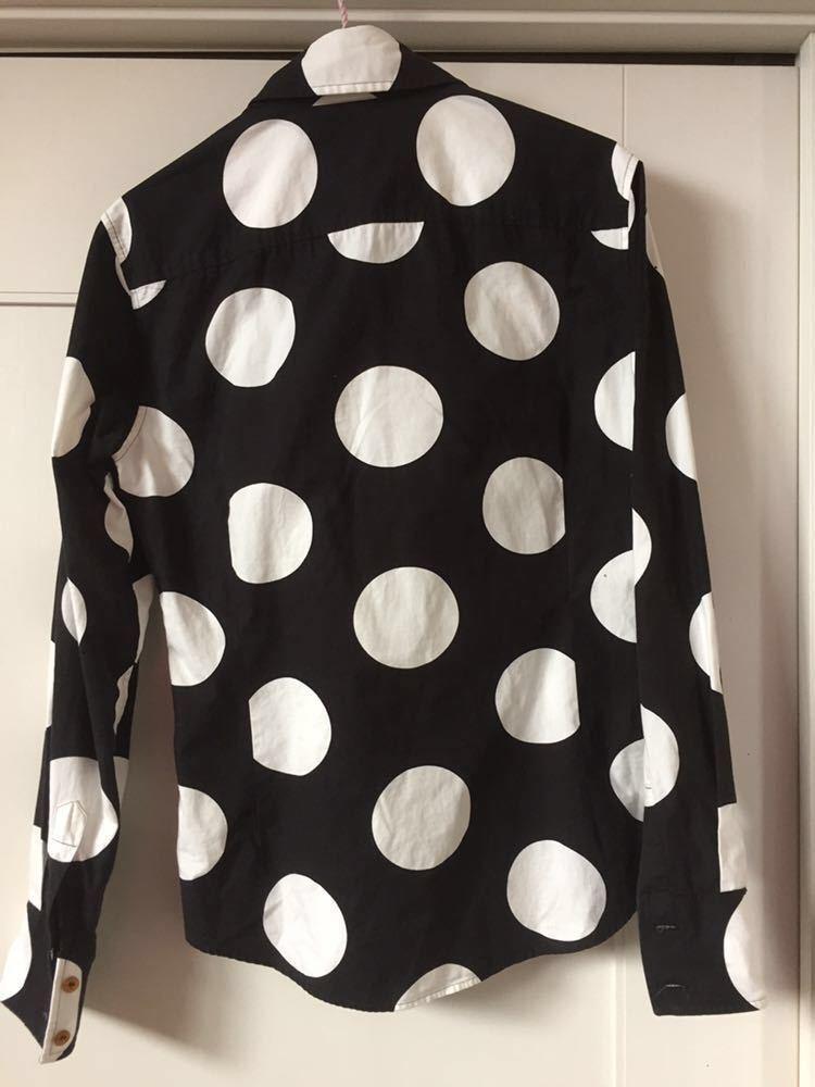 ヴィヴィアン ウエストウッド マン スポット柄 水玉 ドットシャツ Vivienne Westwood MAN_画像2