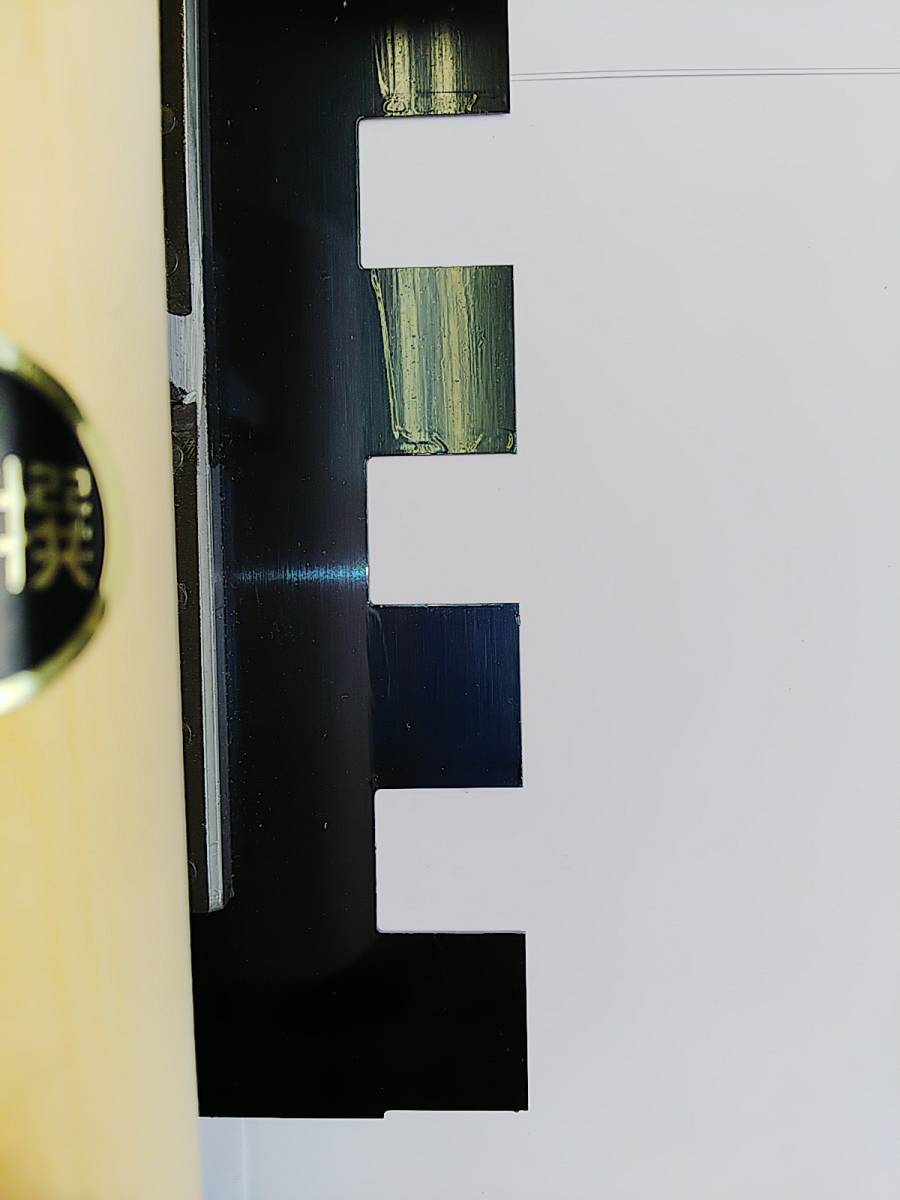 菱十 特殊 油焼 クシ鏝 270㎜ ボンド タイル 貼り 大判 床 職人 左官 プロ パターン 20㎜ 送料無料_画像10