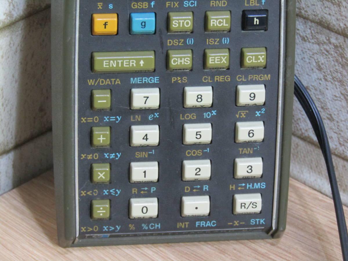 HP/ヒューレット・パッカード 電卓 ヴィンテージ HP-67 (W-4321)_画像4