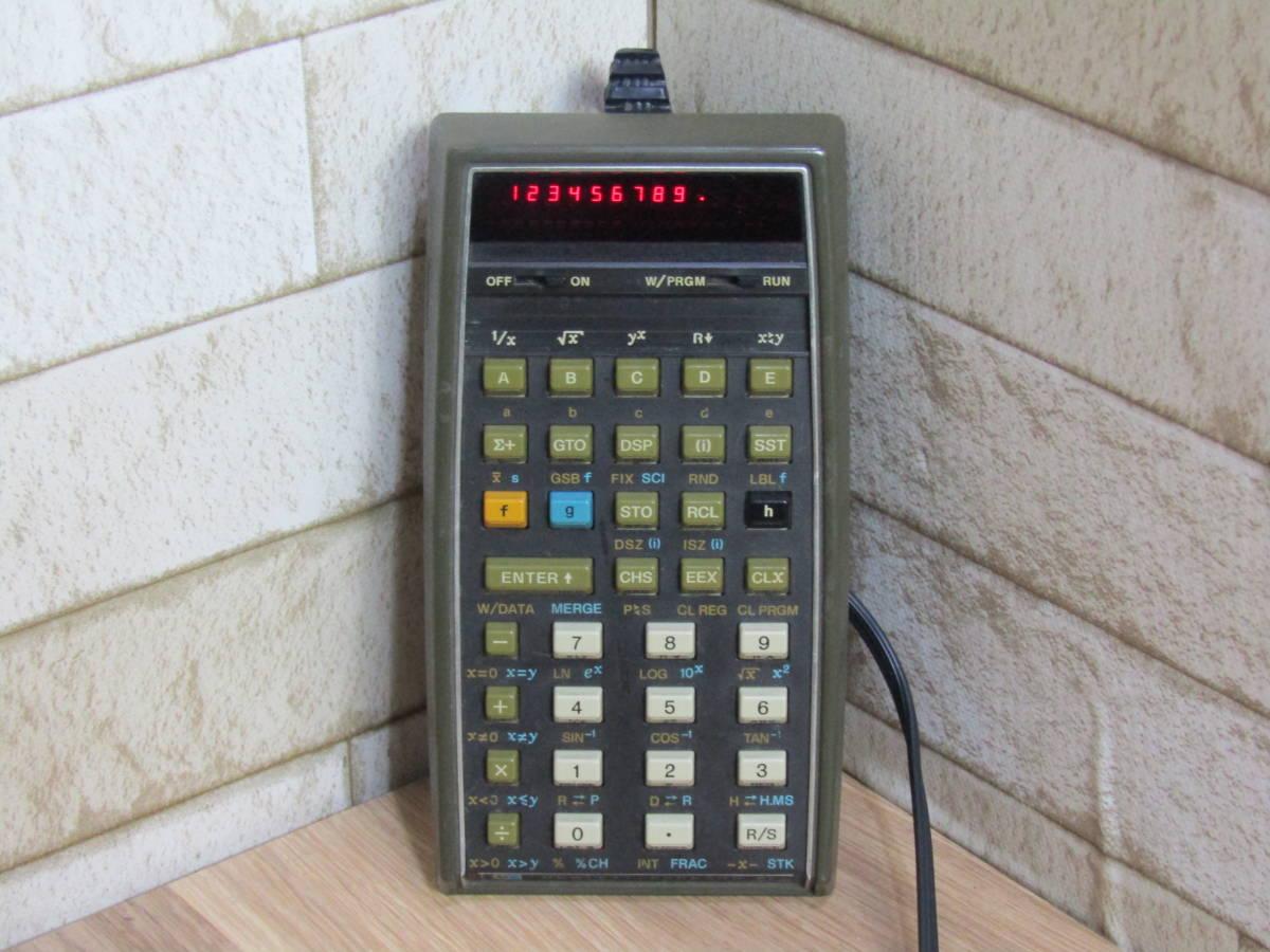 HP/ヒューレット・パッカード 電卓 ヴィンテージ HP-67 (W-4321)_画像2