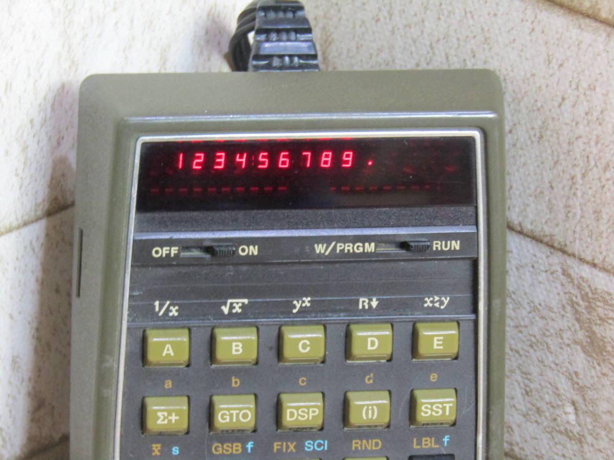 HP/ヒューレット・パッカード 電卓 ヴィンテージ HP-67 (W-4321)_画像3