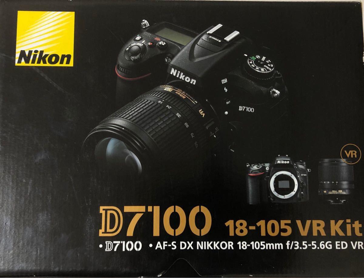 Nikon D7100 18-105 VR Kit 美品