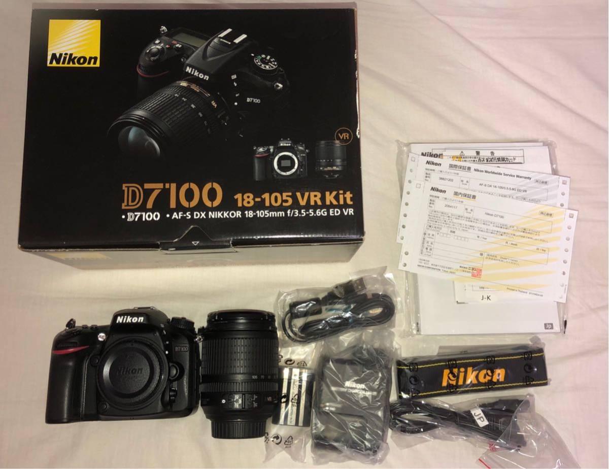 Nikon D7100 18-105 VR Kit 美品_画像5