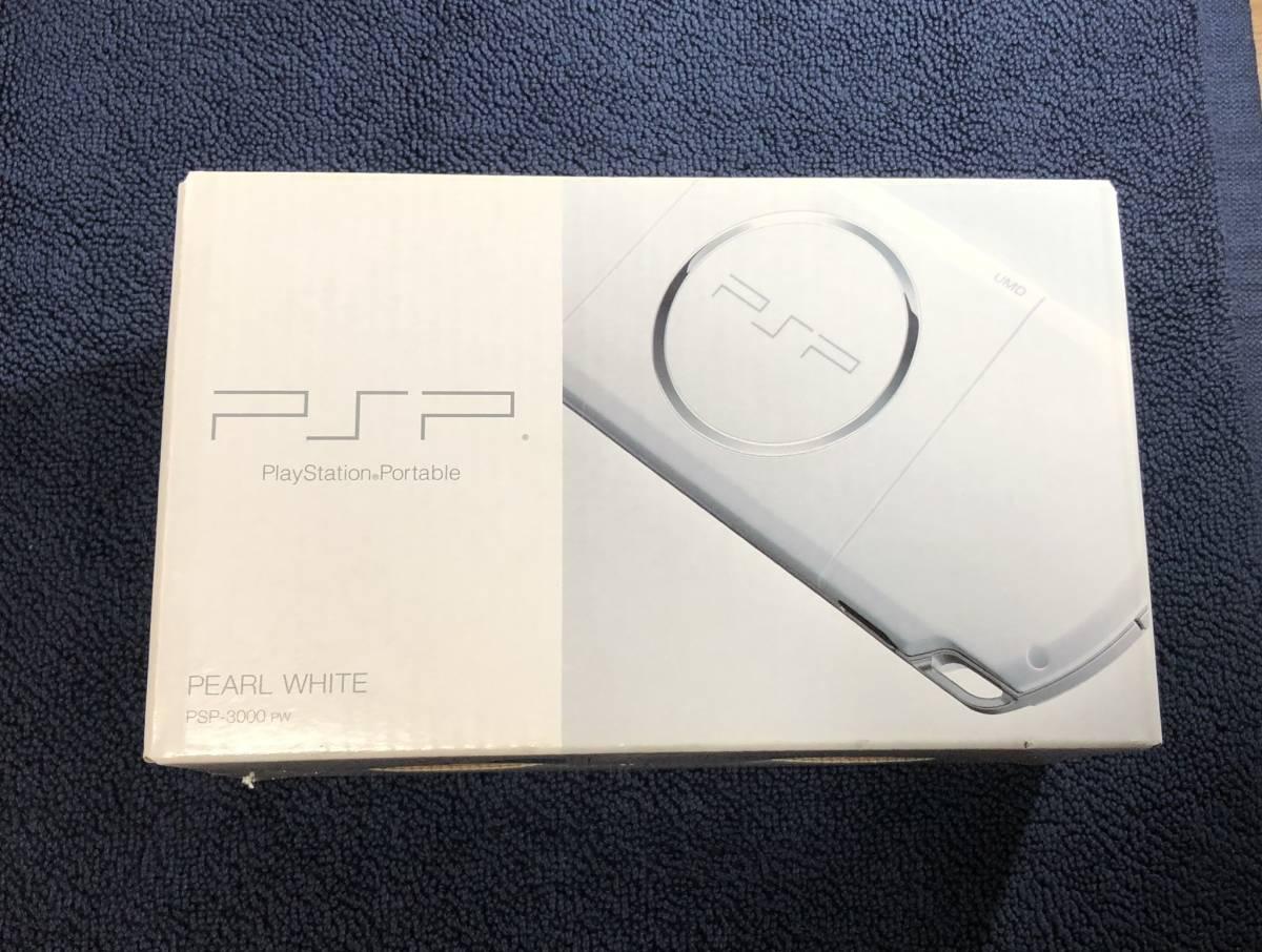 ★ほぼ新品 極上品★ PSP 3000 PSP3000 パールホワイト Pearl white 付属品完備 即決_画像1