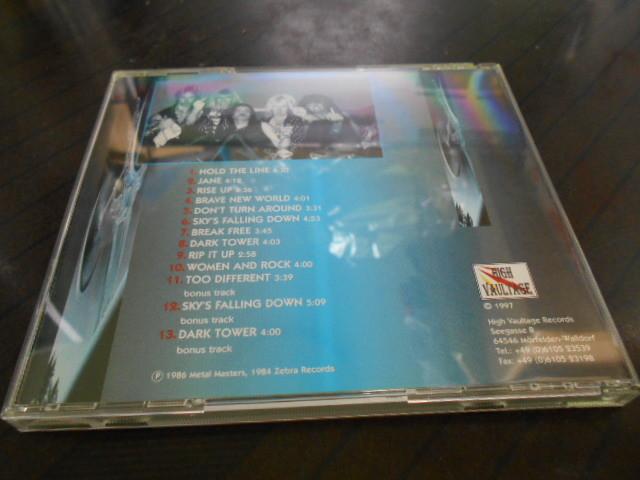 Persian Risk/rise up  1997年輸入盤HIGH VAULTAGE ボートラ3曲 HR/HM NWOBHM melodic_画像2