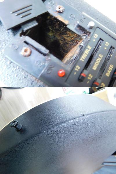 Mavis MX-220L BLK 希少レフティ 左利き テレキャスヘッド シングルカッタウェイ ブラックボディ ジャンクエレアコ /C70_画像9