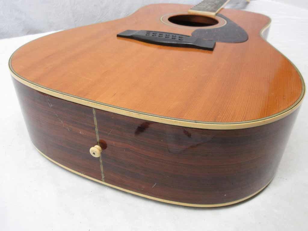 07083Z レトロ YAMAHA ヤマハ 12弦 FG12-301 アコースティックギター イタミ多数 現状 売り切り_画像7