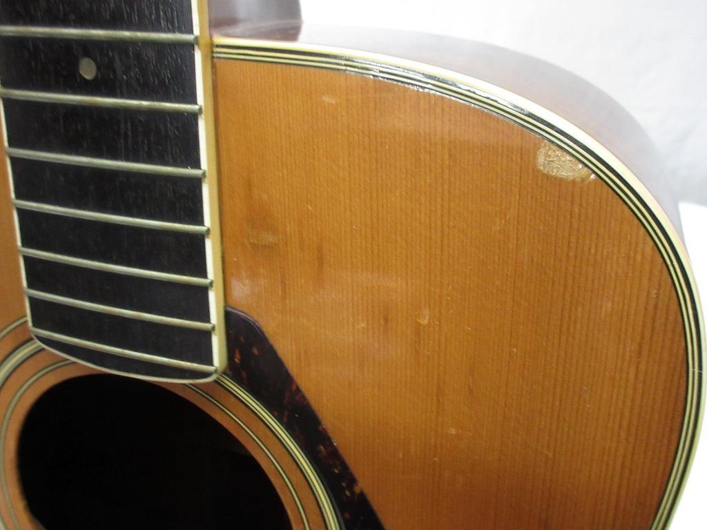07083Z レトロ YAMAHA ヤマハ 12弦 FG12-301 アコースティックギター イタミ多数 現状 売り切り_画像6