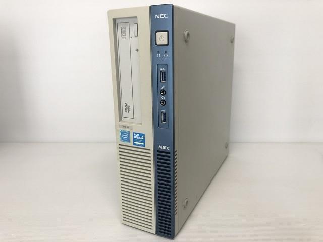 7154【NEC・MB-N】Celeron G1840 2.80GHz メモリ8GB HDD1TB DVD-ROM 64bit★Win10 Pro