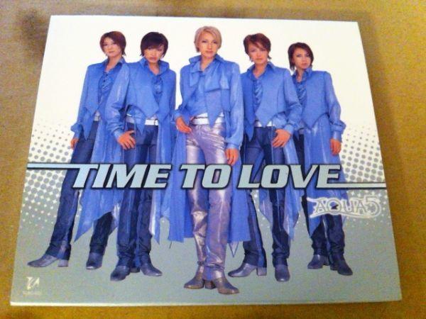 AQUA5/TIME TO LOVE(初回限定CD+DVD)★宝塚雪組 水夏希 風稀かなめ 音月桂 彩那音 彩吹真央